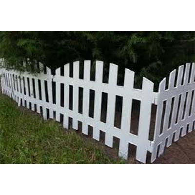 Белый забор 100х90