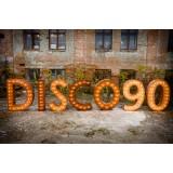 Буквы Disco 90
