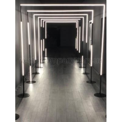 Led коридор прямоугольный