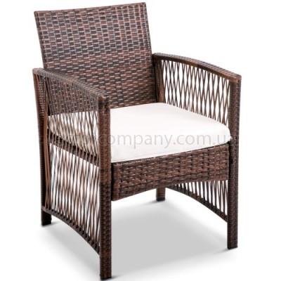 Ротанговое кресло Color brown