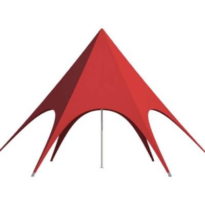 """Красный шатер """"Звезда"""" d12"""