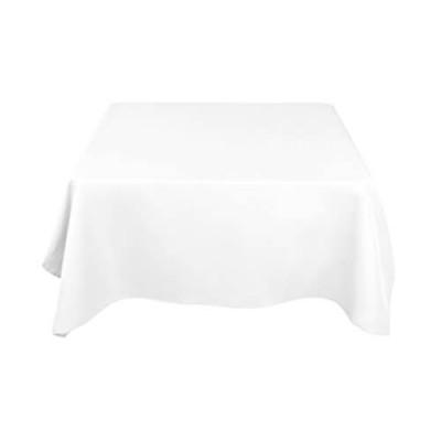 Белая квадратная скатерть (150x150)