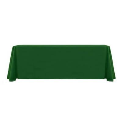 Зеленая прямоугольная скатерть (150x250)
