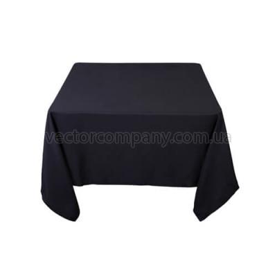 Черная квадратная скатерть (150x150)