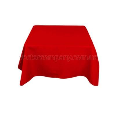 Красная квадратная скатерть (150x150)