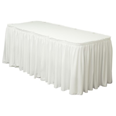Белая юбка на стол (600х75)
