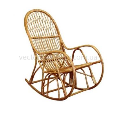Кресло качалка плетенное