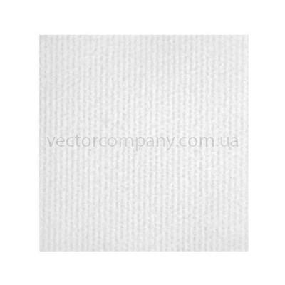 Белый выставочный ковролин