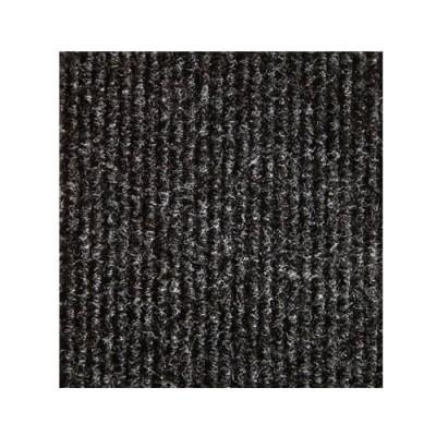 Черный выставочный ковролин