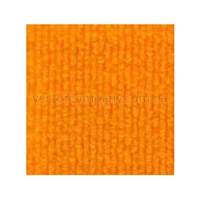 Оранжевый выставочный ковролин