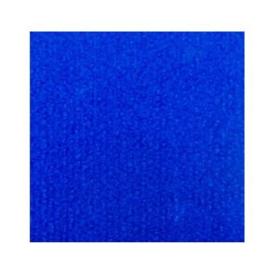 Синий выставочный ковролин