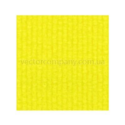 Желтый выставочный ковролин