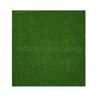Зеленый выставочный ковролин