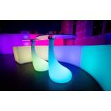 LED журнальный стол Drop