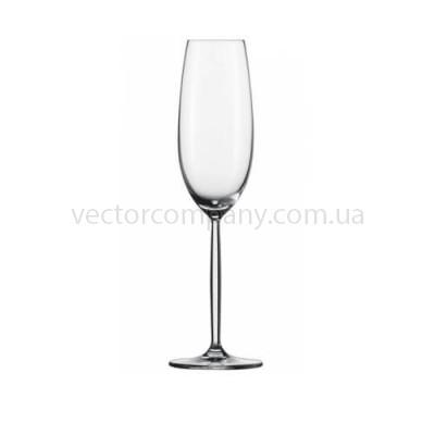 Бокал для шампанского на высокой ножке 190мл