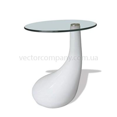 Журнальный стол Drop белый