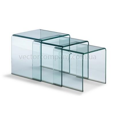 Комплект МОСТ прозрачный (3 стола в комплекте)