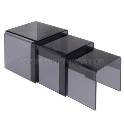 Комплект МОСТ темный (3 стола в комплекте)