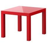 Журнальный стол ИКЕА красный