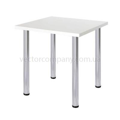 Стол квадратный 80x80 белый