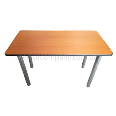 Стол прямоугольный 120x60 коричневый