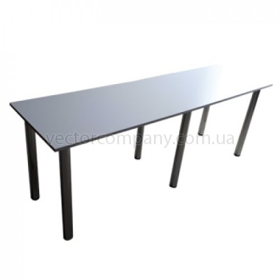 Стол прямоугольный белый 200x60